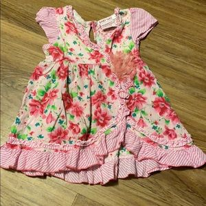 Baby nay floral dress size 12 month
